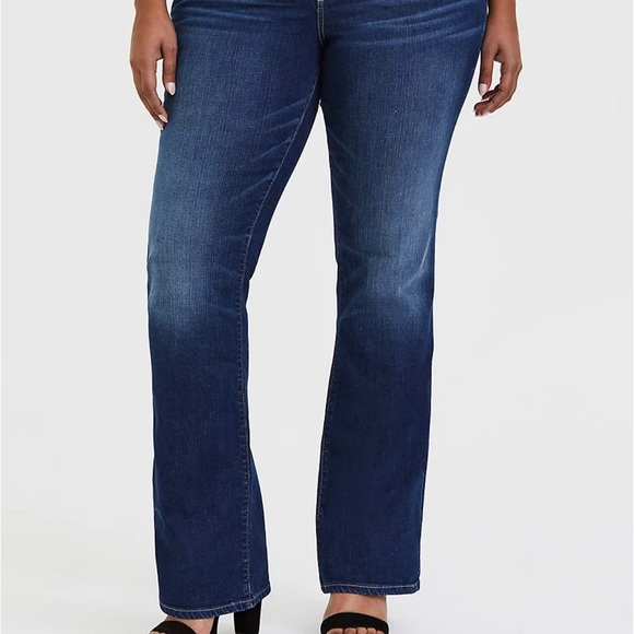 NWT Torrid Relaxed Boot Jeans 14XS